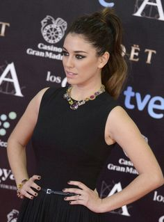 Blanca Suárez- GOYA CINEMA AWARDS 2014.