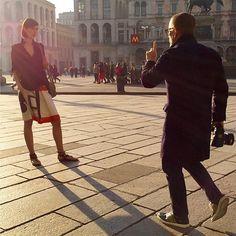 The Sartorialist / Shooting for La Rinascente!  // #Fashion, #FashionBlog, #FashionBlogger, #Ootd, #OutfitOfTheDay, #StreetStyle, #Style