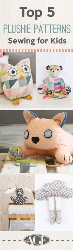Handmade Toys for Kids - Sewing Plushie
