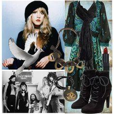 """""""Stevie Nicks"""" by elizabethcarter on Polyvore"""