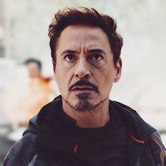 "Tony Stark/Iron Man in ""Avengers: Infinity War"" Robert Downey Jr., Hulk, Star Trek, Anthony Edwards, Ironman, Iron Man Tony Stark, Downey Junior, Avengers Infinity War, Beard Styles"