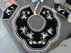 Native American Floral Beadwork | Raised beaded collar.