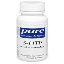 5-HTP 50 Mg, 180 V-Capsules, by Pure Encapsulations (Excipient Free)