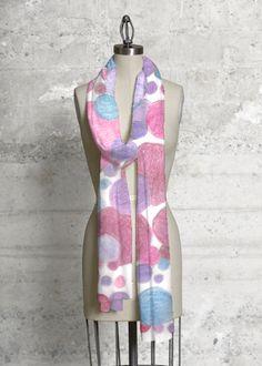 Cashmere Silk Scarf - Polka Marbles by Leo by VIDA VIDA 6dHYxj