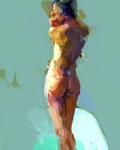BathtubBodyStudy  Older painting  #painting #study #contemporaryart #arts_gate #nude_art #eroticart #art_community #fineart #figurativeart #artoftheday #artstarsmag  #milkformycoconut