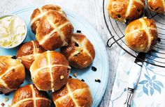 Celebrate Easter by baking a batch of classic hot cross buns to share with family and friends.They're surprisingly easy to make and these seasonal spiced treats can be mastered in just six easy steps with our Easter recipe.
