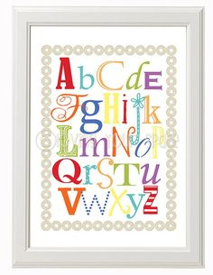 Printable Kids Playroom Art  Set of 2  8x10 by Lovingyourspace, $5.00