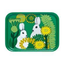 Puput Piilosilla plywood tray, Mix marimekko (royaldesigns.com)