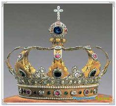 Free  Papercraft : Crown of Bavaria Papercraft