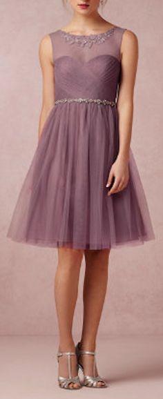 delicate lace plum sweetheart dress