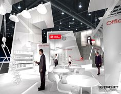 Exhibition stand Lighting Technologies on Behance