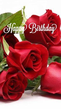 Birthday Greetings Friend, Happy Birthday Wishes Images, Happy Birthday Pictures, Happy Birthday Quotes, Friend Birthday, Birthday Wishes Flowers, Birthday Cake With Flowers, Happy Birthday Candles, Happy Brithday