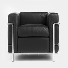 Pierre Jeanneret, Le Corbusier, Charlotte Perriand, for Cassina, 1925 Charlotte Perriand, Pierre Jeanneret, Le Corbusier, Dream Furniture, Furniture Design, Lounge Seating, Lounge Chairs, Mid Century Design, My Dream Home