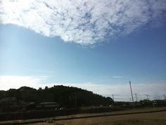 Hello! How are you? #picoftheday  #photooftheday #pictureoftheday #nature #sky #bluesky #clouds #japan #sight #winter #weather #day