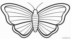 Simple butterfly outline free simple coloring pages coloring pages free simple butterfly template . Butterfly Drawings With Color, Butterfly Outline, Butterfly Sketch, Cartoon Butterfly, Butterfly Mask, Butterfly Coloring Page, Butterfly Clip Art, Simple Butterfly, Butterfly Kids
