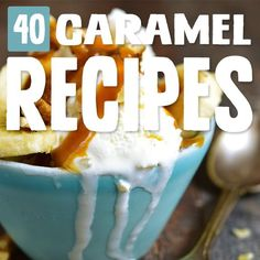 Sweet, chewy, sweet, what's not to love about caramel? When I can't go another day without a sweet treat I use one of these caramel recipes and I reset the clock. Paleo Dessert, Best Dessert Recipes, Gluten Free Desserts, Healthy Desserts, Easy Desserts, Sweet Recipes, Delicious Desserts, Yummy Food, Paleo Recipes