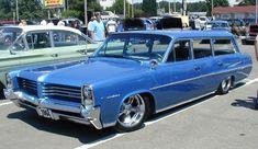 Blue 1964 Po-Cat Wagon