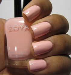 Addicted to Polish: Zoya Awaken Collection for Spring 2014 Swatches and Review - Zoya Nail Polish in Dot