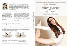 I totally want to try this . . . I would've loved to have been a ballet dancer; at least I can try the workouts!  :)