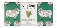 OmNom Sea Salted Almonds + Milk 45%