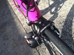 Campagnolo - Veloce Brake Caliper   SwissStop - Black Prince Carbon Brake Pad