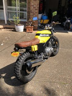 Suzuki GS500 Scrambler Suzuki Scrambler, Suzuki Cafe Racer, Scrambler Custom, Scrambler Motorcycle, Vespa, Suzuki Gs500, Gs500 Cafe Racer, Cafe Racing, Street Fighter
