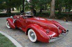 1936 Auburn Custom Speedster Boattail Speedster