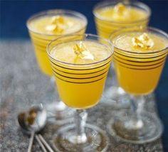 Clementine & prosecco jellies