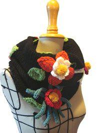 """col """"jardin secret"""" de élodie-tricote"""