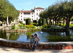Museums and kids can be an odd combination, if it's not the right type of museum. During my search for places to visit in Miami with my family, I found Vizcaya Museum and Gardens and ended up being a huge hit http://travelexperta.com/2013/01/vizcaya-museum-gardens-miami-florida.html #florida #tour #museum