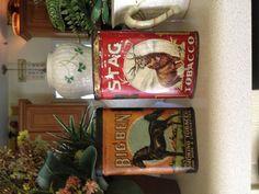 Big Ben and Stag tobacco tins (pocket)