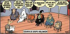 Pintura Que Fala: Halloween: Terapia De Grupo