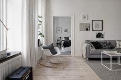 Home in grey