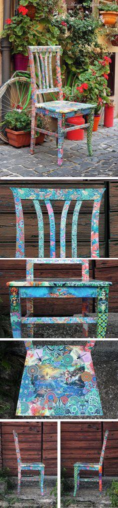 gipsy Ariel theme chairs