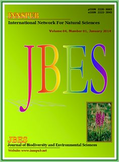 Journal of Biodiversity and Environmental Sciences - JBES