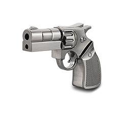 8GB Usb Flash Drive Gun Revolver Silver Metal Memory Stick Thumbdrive Novelty Cool USB Flash Drives (8gb, Silver) #Flash #Drive #Revolver #Silver #Metal #Memory #Stick #Thumbdrive #Novelty #Cool #Drives #(gb, #Silver)