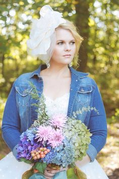 I loved my headpiece by The Yellow Peony and my flowers!