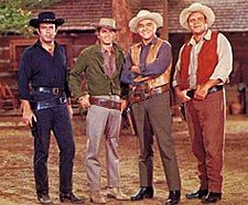 Bonanza ~ I was in love with Little Joe, but I loved all of them and loved the show.