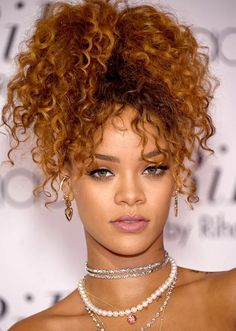 Amazing Hairstyles For Curly Hair For Girls Hairstyles For Curly hair styles for girls with curly hair - Hair Style Girl Curly Hair Styles, Medium Hair Styles, Natural Hair Styles, Ponytail Styles, Crochet Braids Hairstyles, Ponytail Hairstyles, Girl Hairstyles, Amazing Hairstyles, Rihanna Hairstyles