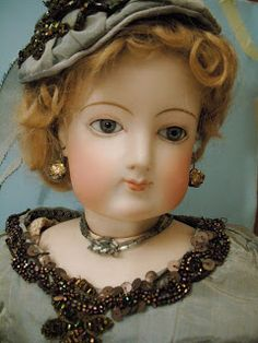 Fashion doll F. Gaultier,,yes,with earrings and the necklace..a beauty doll