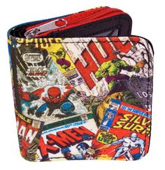 boys Wallets For Boys, Marvel Comics, Lunch Box, Character, Lettering