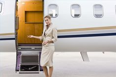Private Jet Flight Attendant - Aviation Videos & Pictures