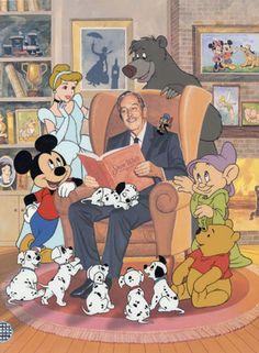 Walt Disney-Wonderful Disneyland and all the lovable characters. Disney Pixar, Retro Disney, Art Disney, Disney Films, Disney And Dreamworks, All Disney Characters, Disney Wiki, Humour Disney, Disney Magie