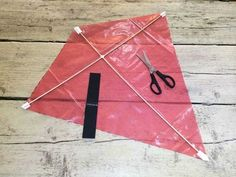 Build a kite step 6 Kites For Kids, Crafts For Kids, Arts And Crafts, Kite Building, Kite Making, Make Your Own, How To Make, Sainsburys, Toddler Learning