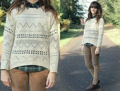 Christmas Sweater! (by Tonya S.) http://lookbook.nu/look/4324241-Christmas-Sweater