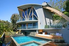 Malibu | California | USA | Eclectic One-of-a-kind Malibu Hillside Retreat