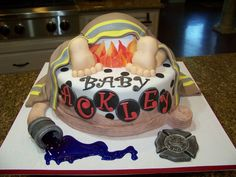 firefighter baby shower - Google Search