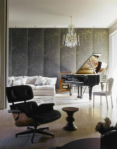 A mix of Classic and Mid century Modern David Hicks and a big juicywebsite - desire to inspire - desiretoinspire.net