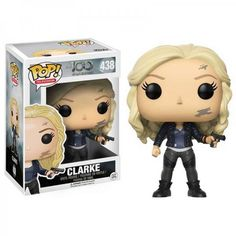 Funko POP TV The 100 Clark Griffin Toy Figure. From The Clark Griffin, as a stylized POP vinyl from Funko! Stylized collectable stands 3 ¾ inches tall, perfect for any The 100 fan! Collect and display all The 100 POP! Funk Pop, Pop Vinyl Figures, Bellarke, The Witcher, Madrid Barcelona, Clark Griffin, Clarke The 100, The 100 Serie, Pop Figurine