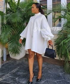 Classy Outfits, Sexy Outfits, Chic Outfits, Beautiful Day, Dress Making, Work Wear, Short Dresses, High Neck Dress, My Style
